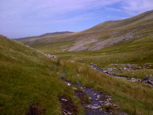 valley north of Carneddau